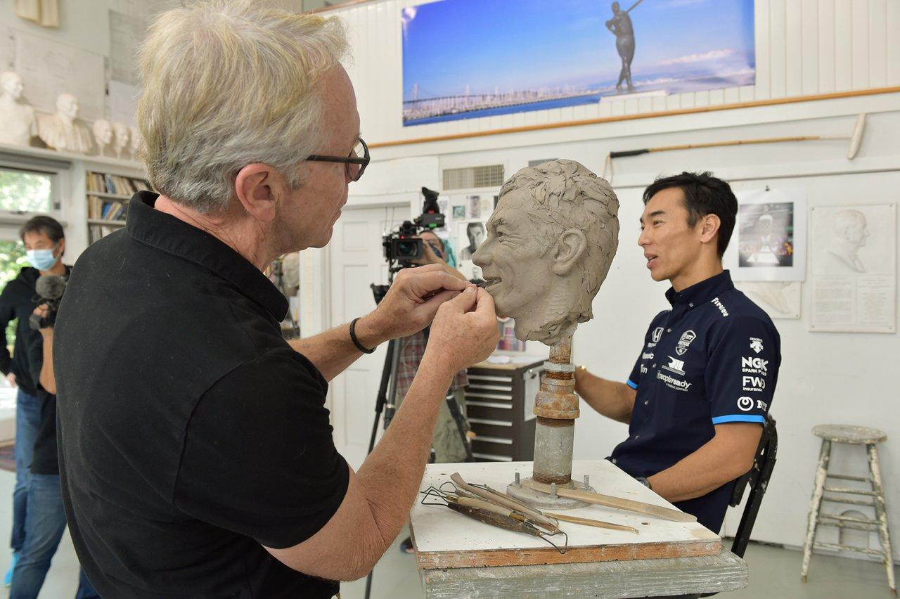 Borg-Warner sculptor