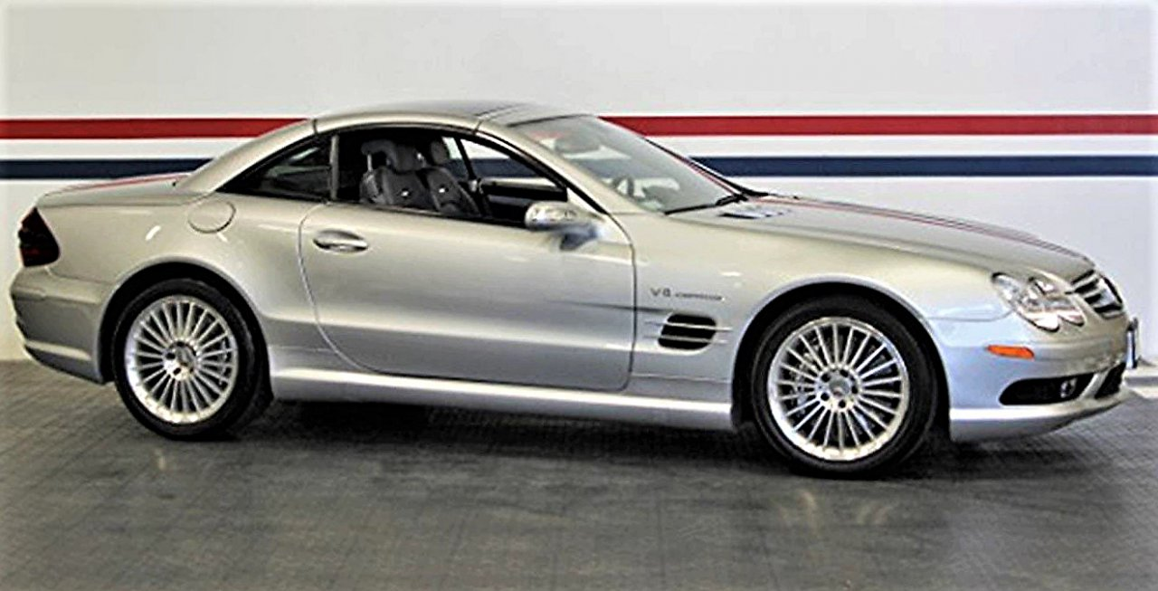 sl55, Pick of the Day: 2005 Mercedes Benz SL55 for performance, daily usability, ClassicCars.com Journal
