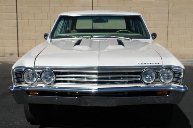 1967 Chevy Chevelle 300 Deluxe Wagon 4-speed