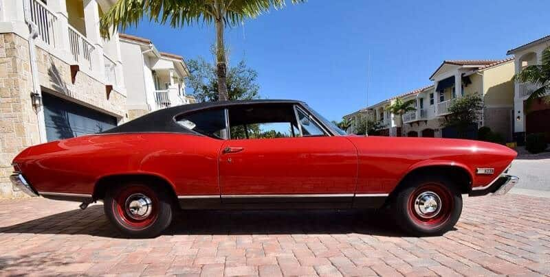 1968 Chevrolet Chevelle SS side view