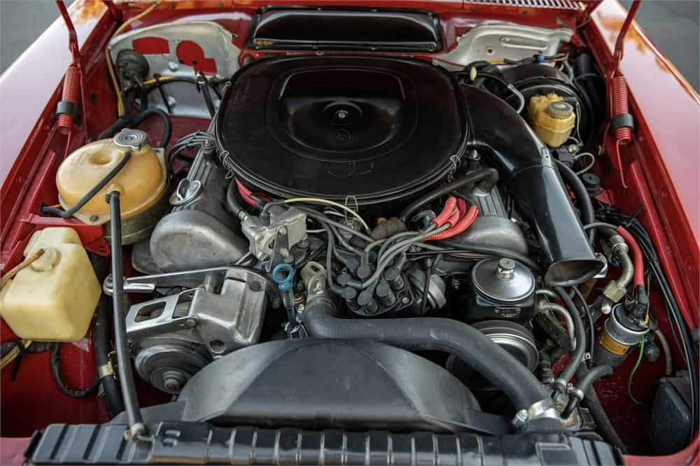 1979 Mercedes-Benz 450SL  engine