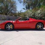 2014-Ferrari-458-Spider-side
