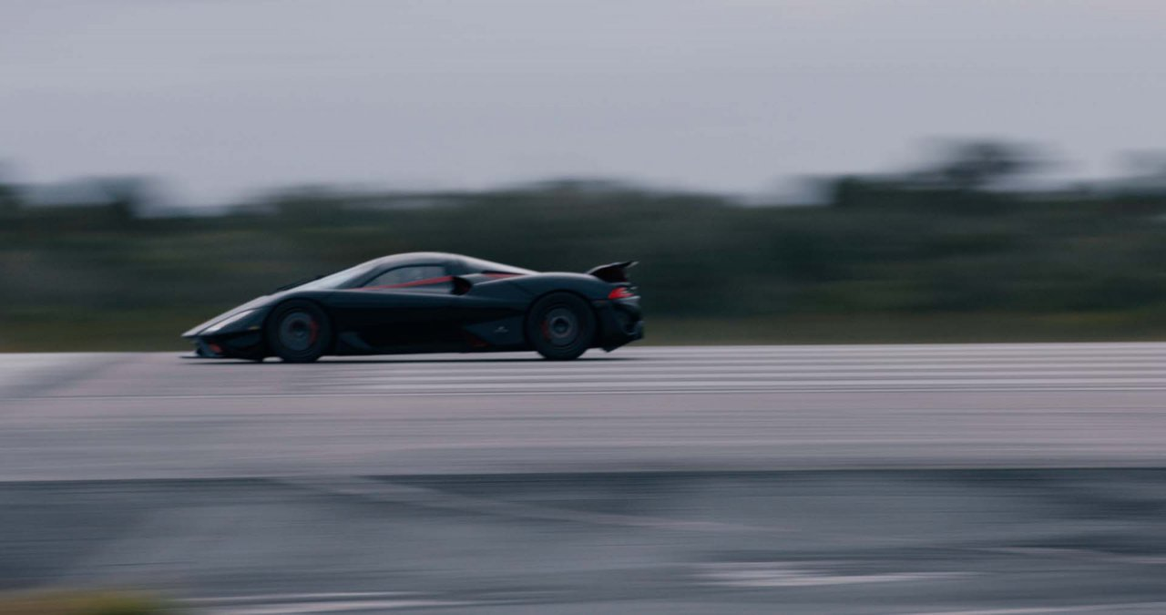 SSC Tuatara sets land-speed record for production cars at 282.9 mph