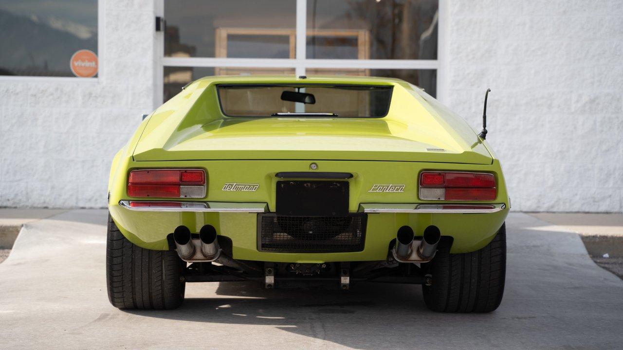 1971 De Tomaso Pantera, a sports car ahead of its time