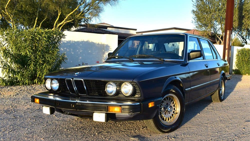 1986 BMW 528e 5-Speed on AutoHunter