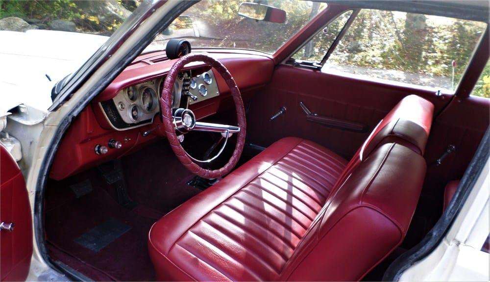 1963 Plymouth Savoy Super Stock tribute interior