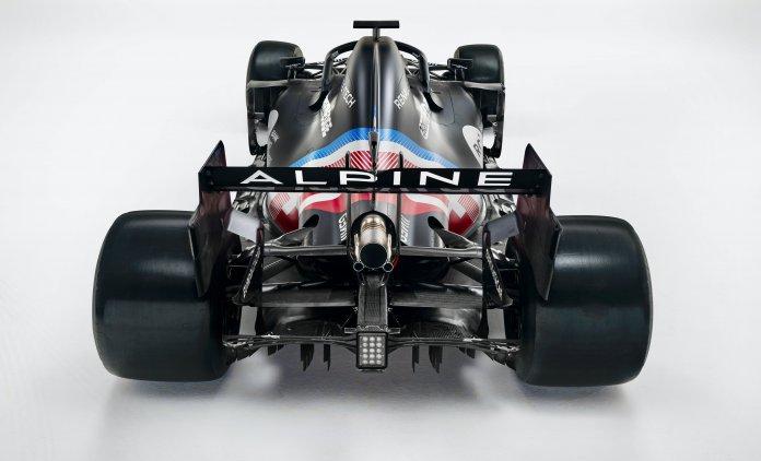 Alpine F1 racer