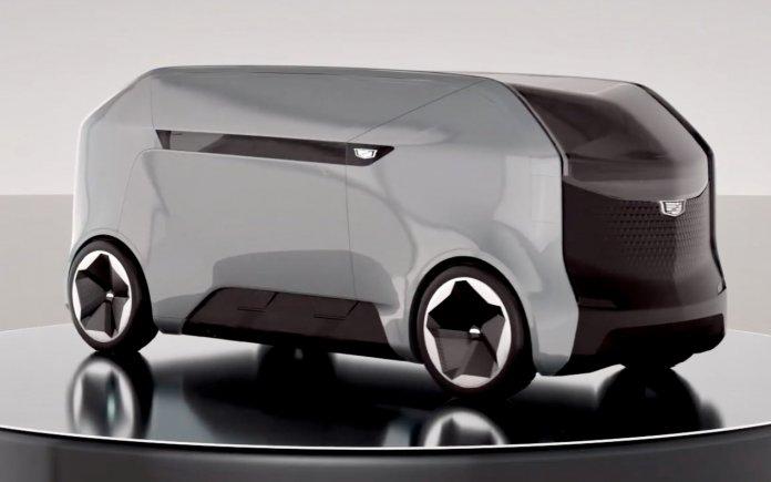 Cadillac van concept