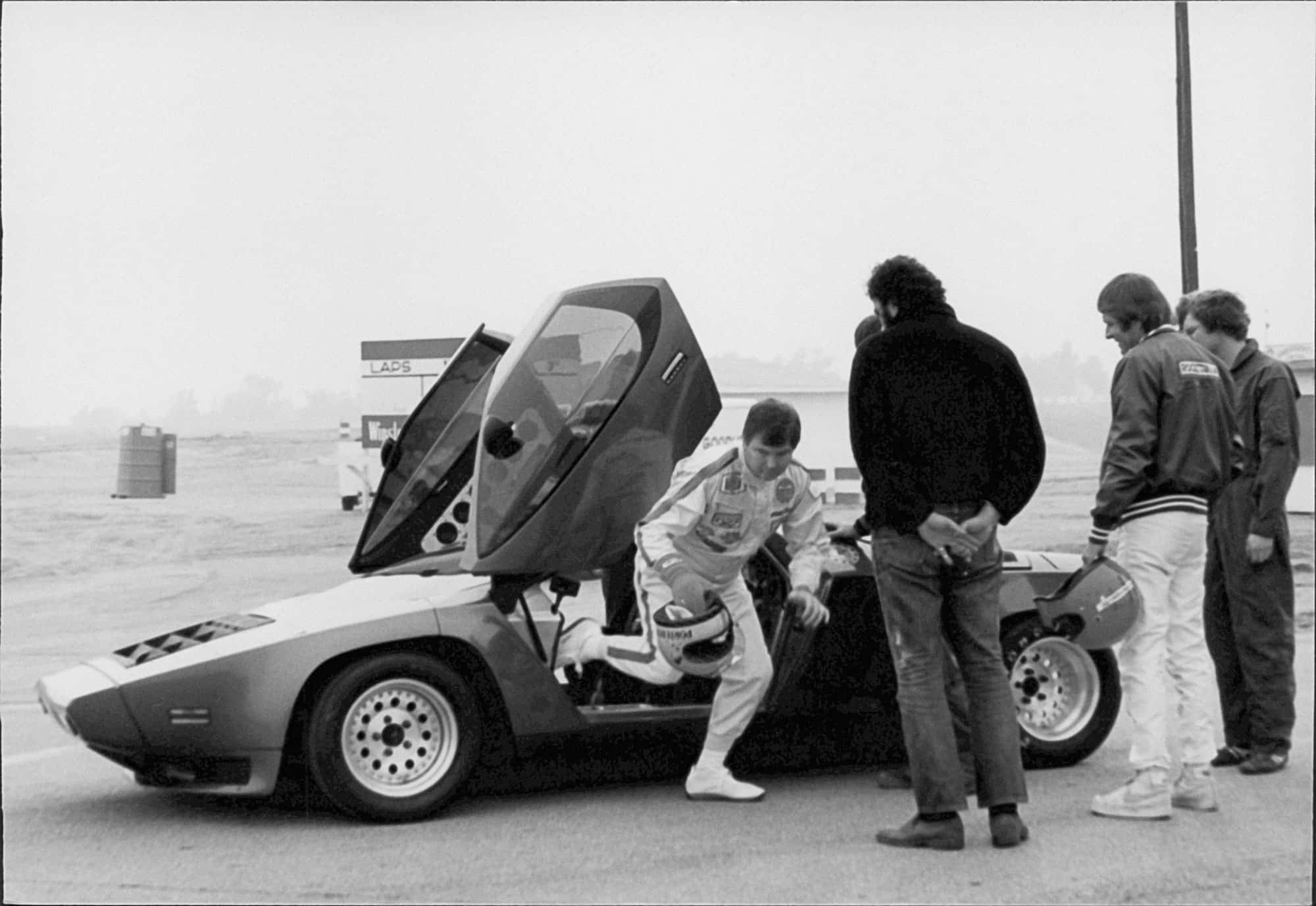 Vector W2 prototype initial testing in 1980   Hagerty