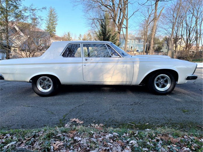 1963 Plymouth Savoy Super Stock tribute
