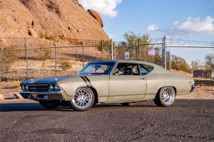 LS3 powered 1969 Chevy Chevelle