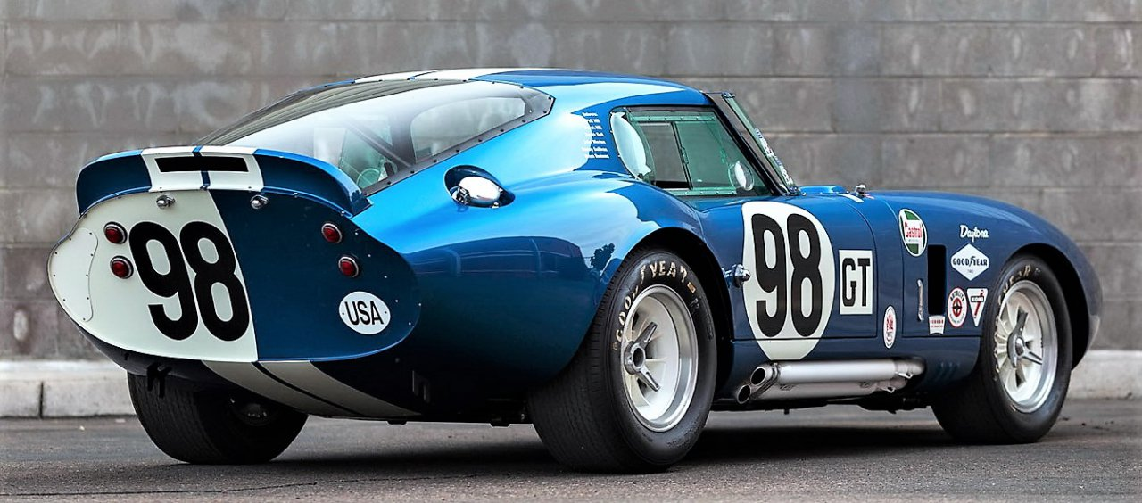 shelby, Carroll Shelby-owned Cobra Daytona Coupe offered by Worldwide, ClassicCars.com Journal