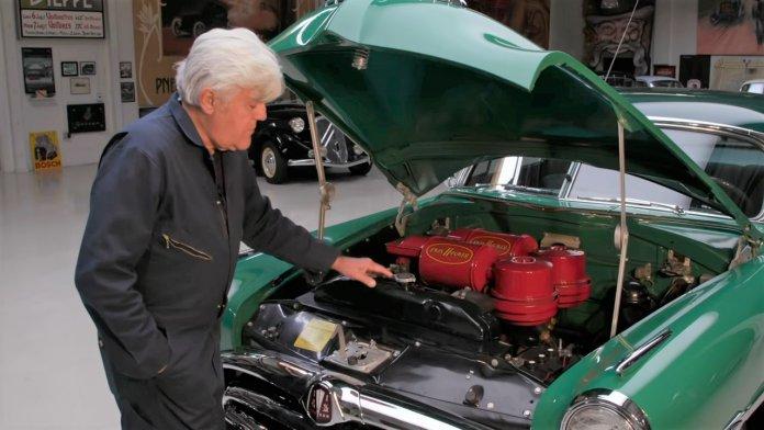 1953 Hudson Hornet cruises into Jay Leno's Garage