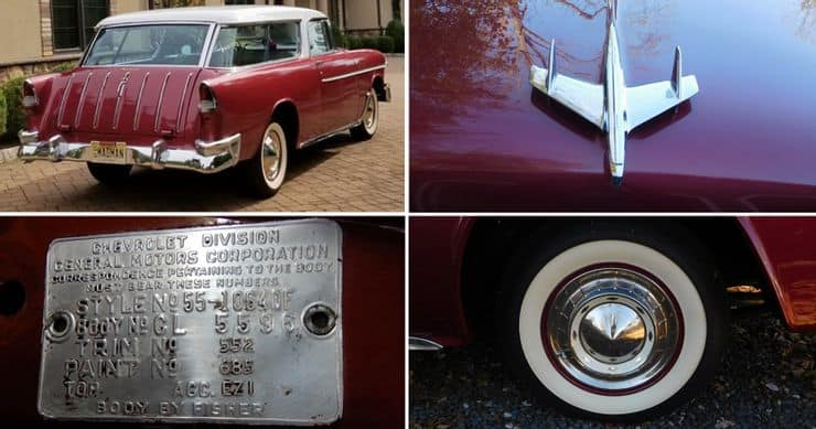 , Beautifully Refinished 1955 Chevrolet Nomad Is Up For Auction At AutoHunters, ClassicCars.com Journal