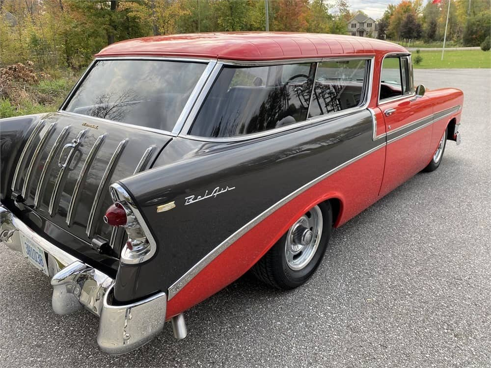 1956 CHEVROLET NOMAD front