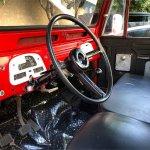 1966 Toyota FJ45 interior