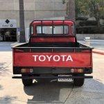 1966 Toyota FJ45 rear