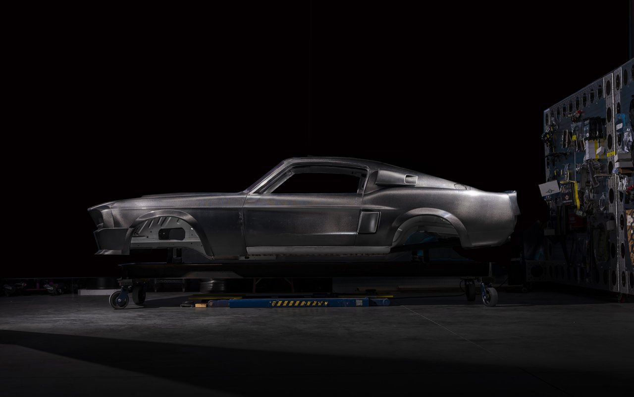 Classic Recreations' first carbon-fiber Shelby GT500CR