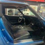 1969 Chevy Corvette interior