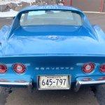 1969 Chevy Corvette rear