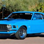 1970 Mustang Boss 429 grabber blue mecum