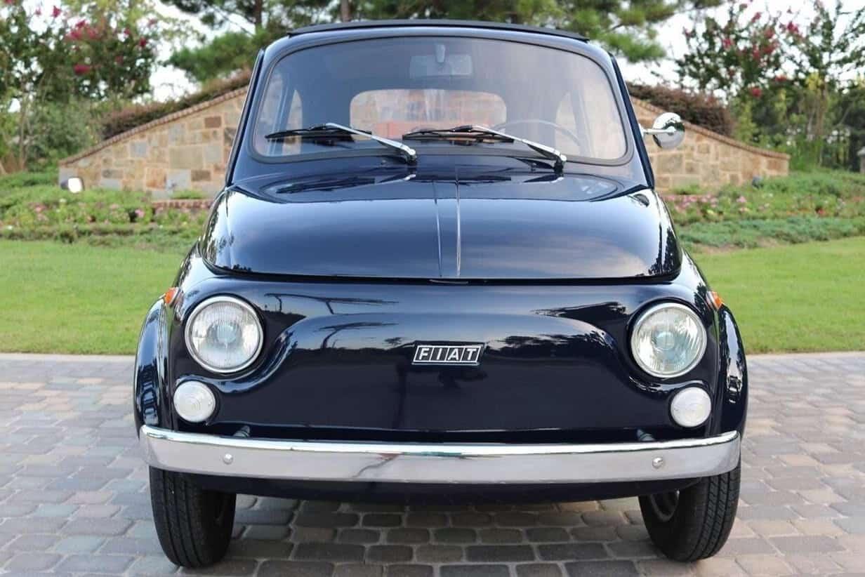 1972 Fiat 500R front