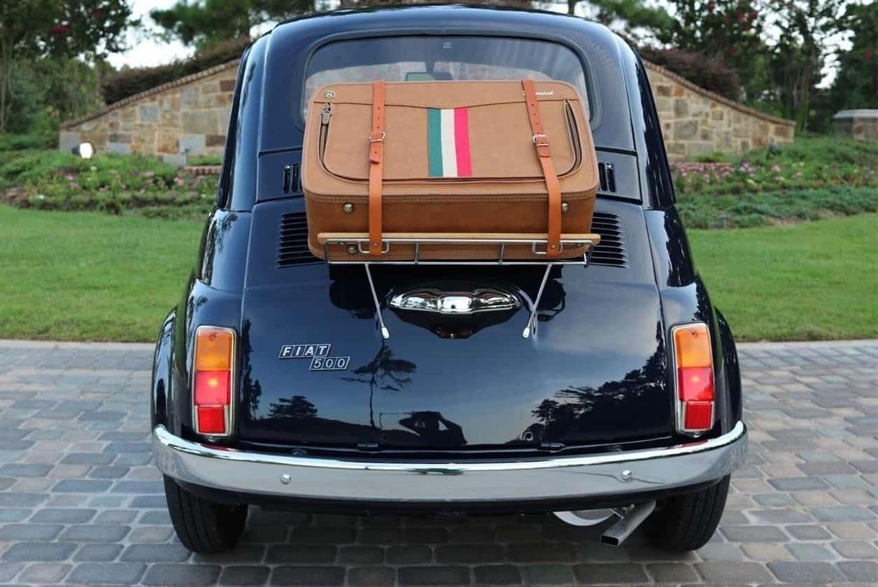 1972 Fiat 500R rear