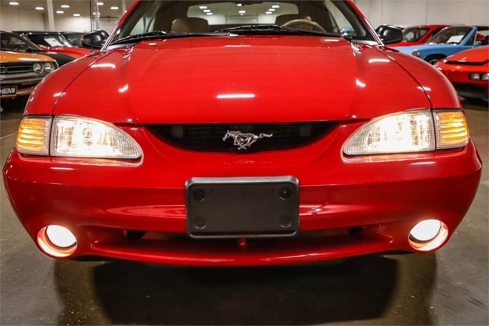 1994 Mustang Cobra Pace Car with just 10k miles