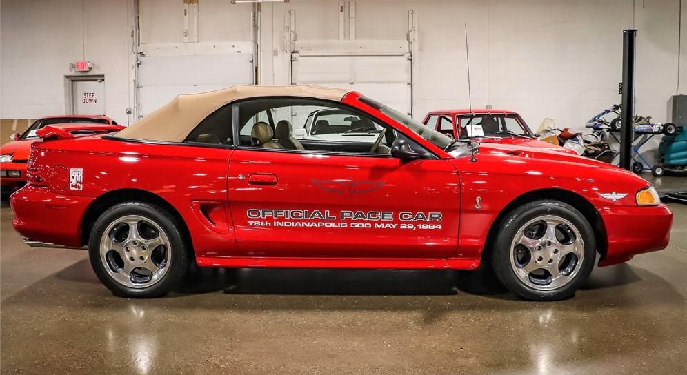 Cobra, AutoHunter Spotlight: No reserve 1994 Mustang Cobra Pace Car with just 10k miles, ClassicCars.com Journal