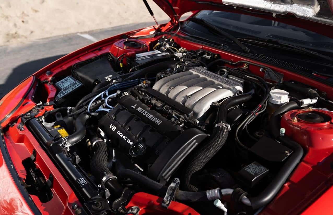 1995 Mitsubishi 3000GT VR4 engine