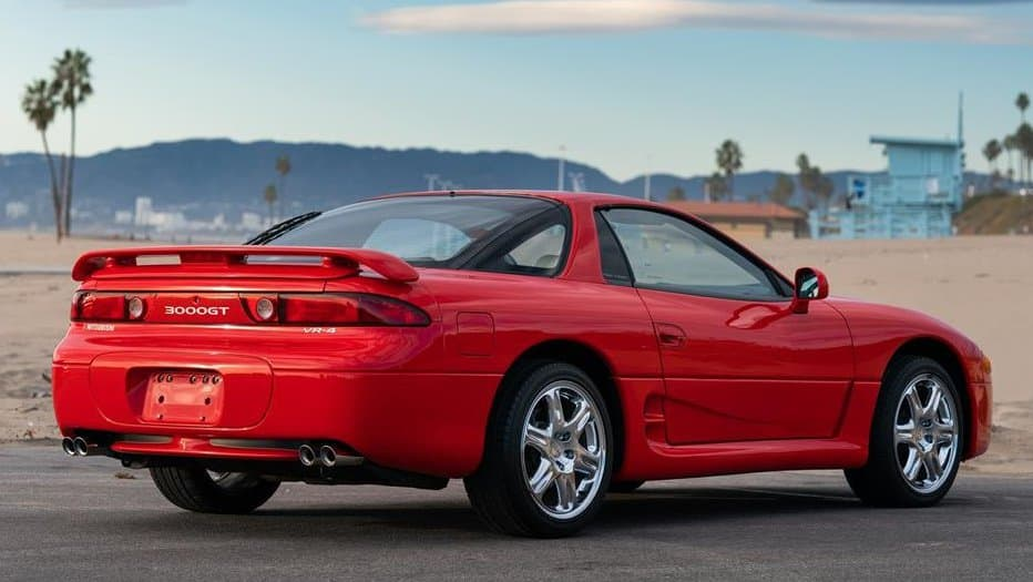 3000GT, Pick of the Day: 1995 Mitsubishi 3000GT VR4, a '90s sports car dream, ClassicCars.com Journal
