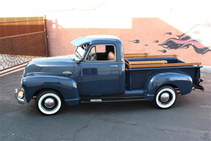 Restored 1953 Chevy 3100 pickup