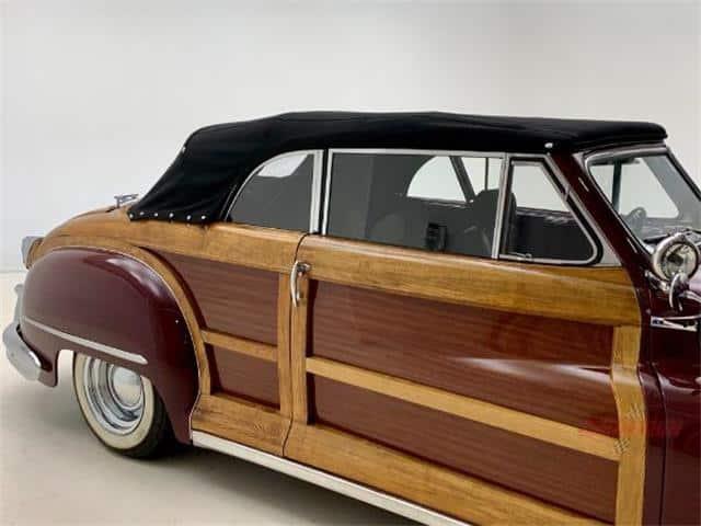 Resto-mod '48 Chrysler Town & Country convertible