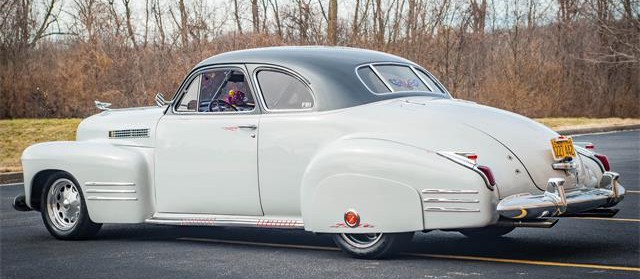 Customized 1941 Cadillac Series 62 coupe
