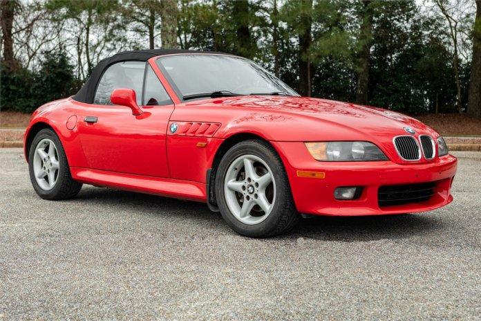 1-owner 1998 BMW Z3 5-speed