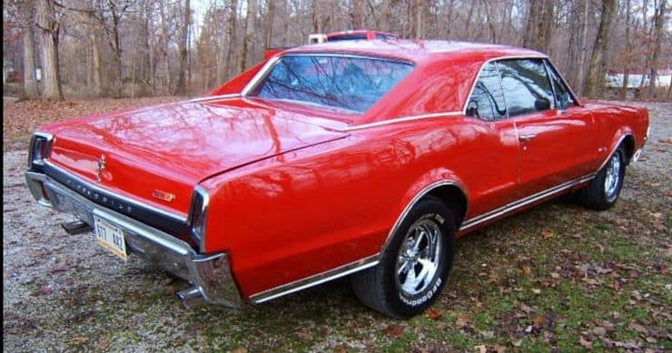 , Check Out This Really Red '67 442 Currently Receiving Bids At AutoHunter, ClassicCars.com Journal