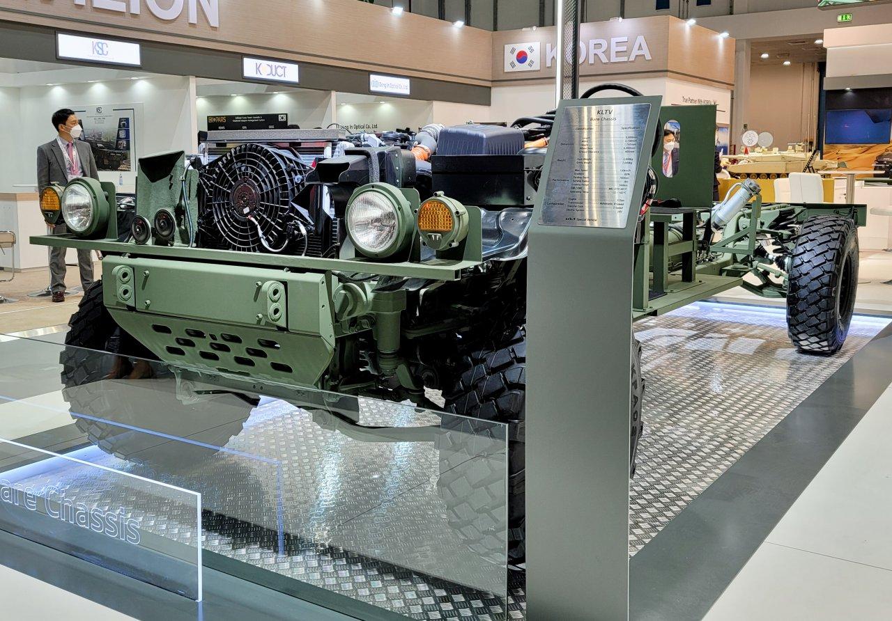 military vehicles, Kia displays military vehicles at UAE  showcase, ClassicCars.com Journal