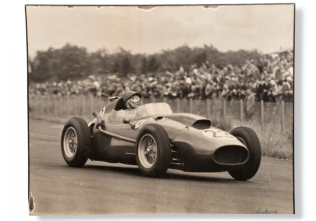gooding, Gooding hits another 100 percent auction of Phil Hill mementos, ClassicCars.com Journal