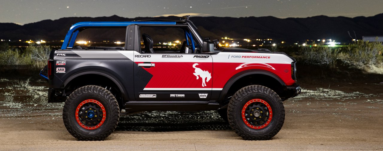Bronco, Ford shows prototype for customer-raced Broncos, ClassicCars.com Journal
