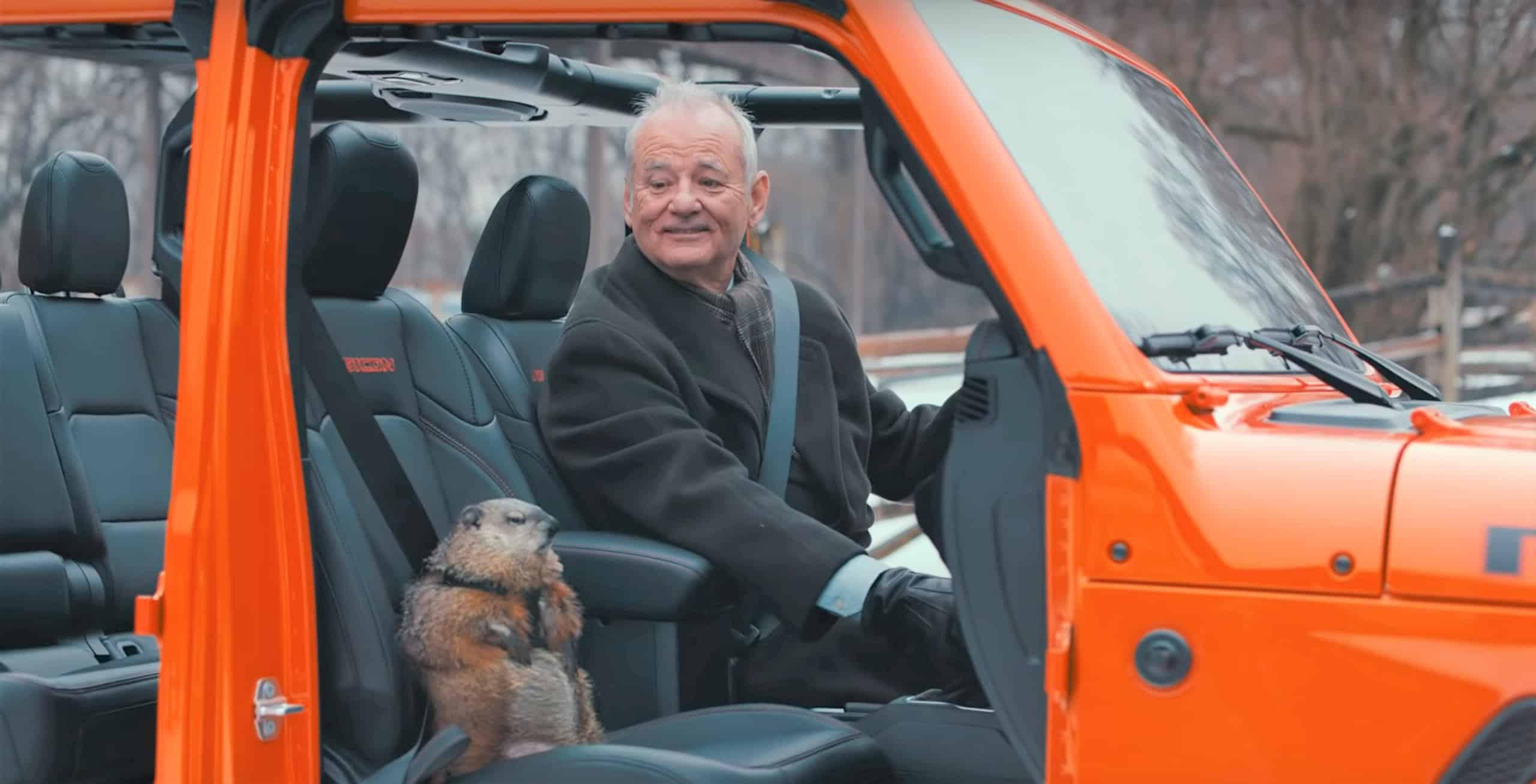 Jeep's 2020 Super Bowl commercial featuring Bill Murray