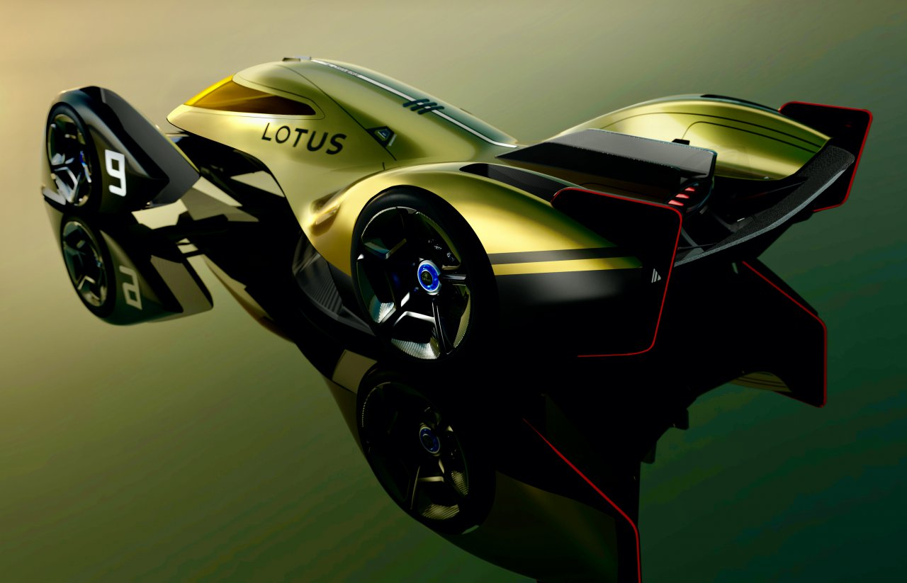 Lotus E-R9, E-R9: Lotus unveils its concept for the race car for the 2030 season, ClassicCars.com Journal
