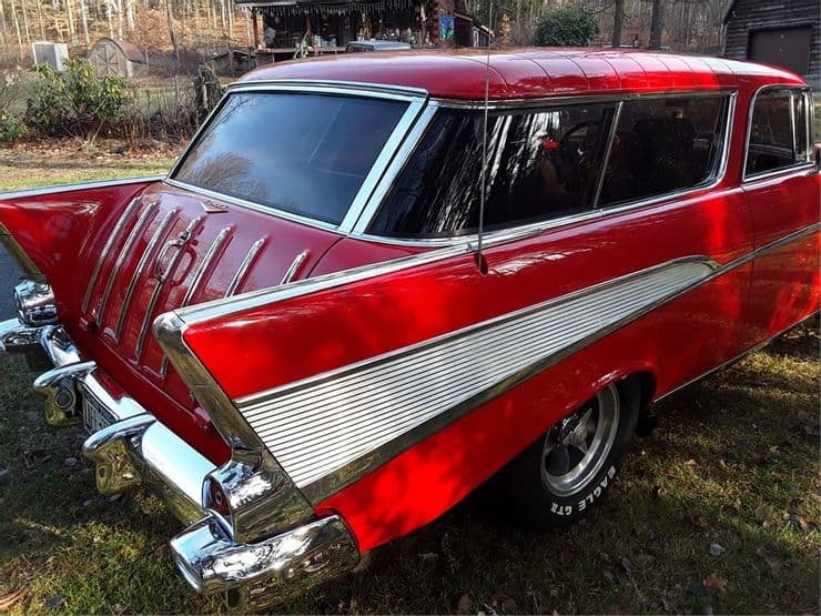 , AutoHunter Auction: This 1957 Chevy Nomad Is A Looker, ClassicCars.com Journal
