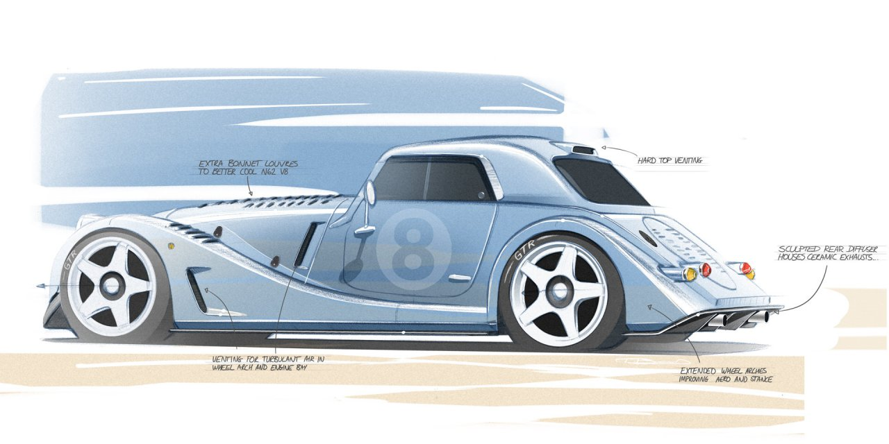 Morgan, Morgan unveils Plus 8 GTR, first of several special projects planned for 2021, ClassicCars.com Journal