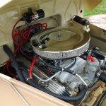 Restored 1942 Willys Pickup engine