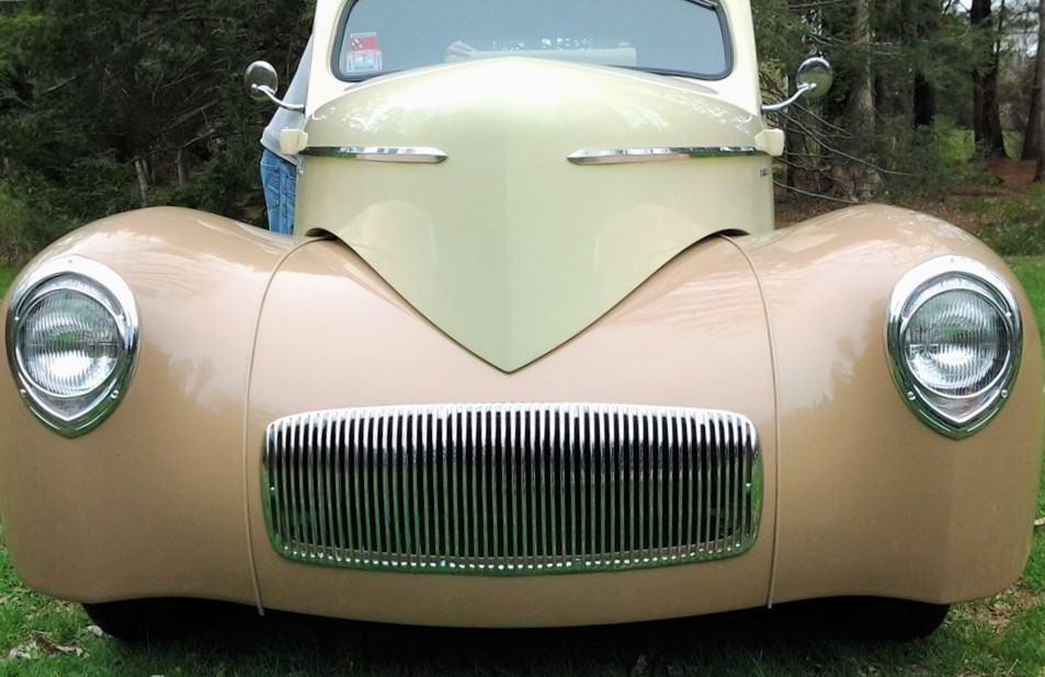 Restored 1942 Willys Pickup
