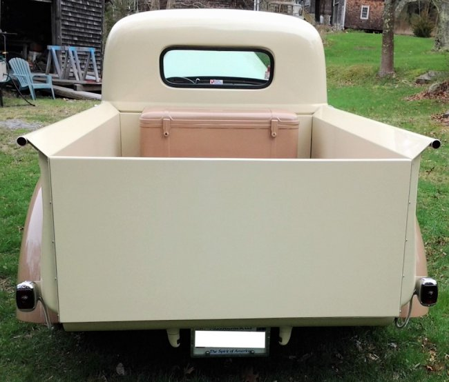Restored 1942 Willys Pickup