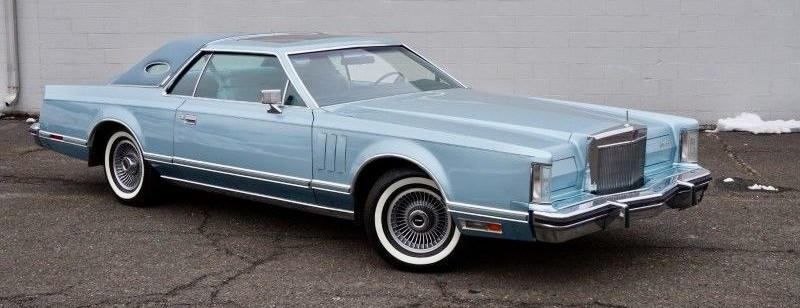 25K 1979 Lincoln Continental Mark V  low-mileage gem on AutoHunter