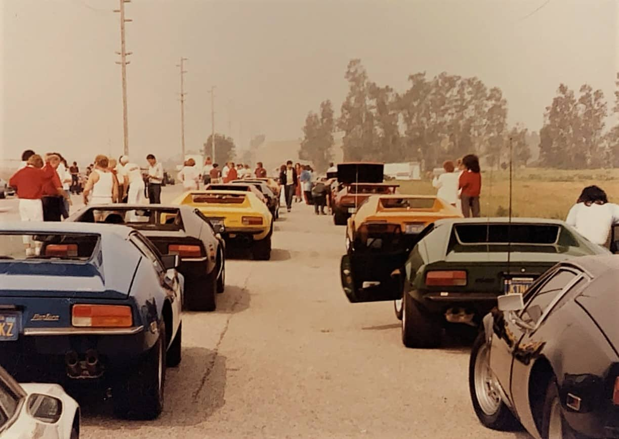 POCA Pantera's lined up in LA for the 1986 cruise to Vegas