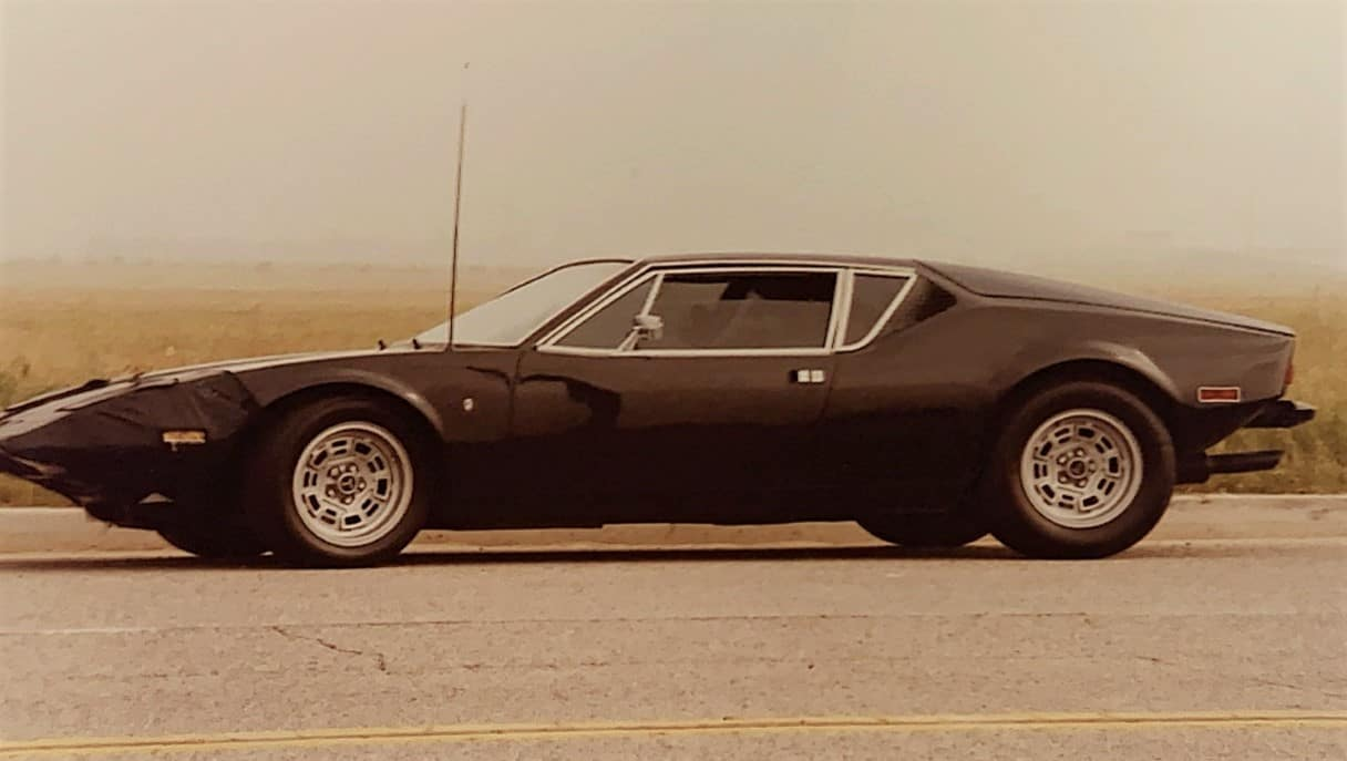 The Pantera Tom drove in 1986 Vegas cruise