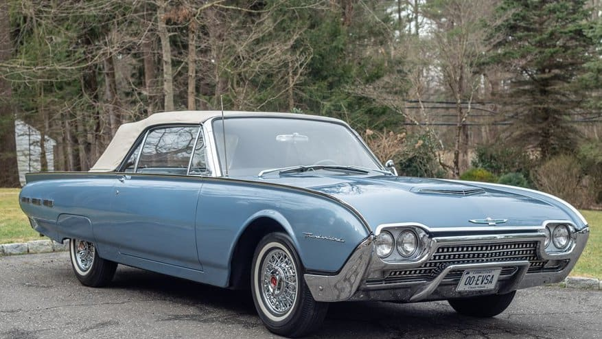 1962 Ford Thunderbird convertible with rebuilt engine